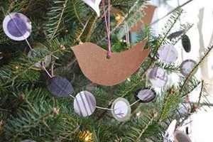 Manualidad Adorno Arbol Navidad Recortable
