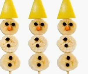 Postre Navidad Fruta Cocina para Niños