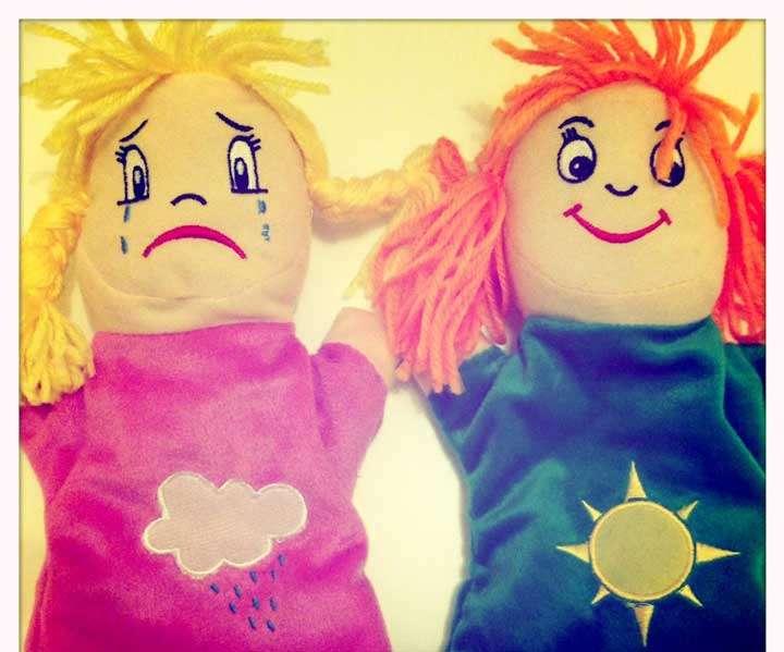 Marionetas de las Emociones