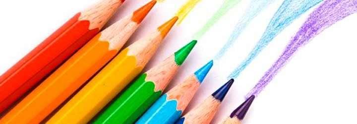 Pintando con Lapices Colores